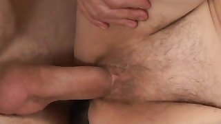 rough sex for a horny granny wearing stockings