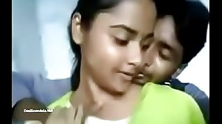 Indian Girl Rajini Permitted Melons Press Video